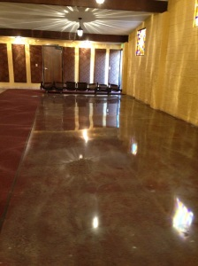 Long Beach Mission Concrete Polished and Stained