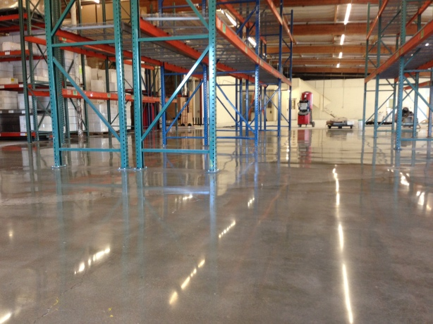 Concrete Polishing Warehouse Los Angeles