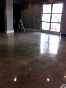 King Harbor Church Concrete Polished